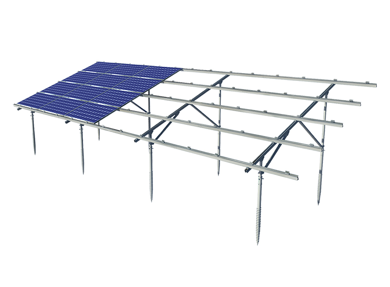 Aluminum Ground Mounting System
